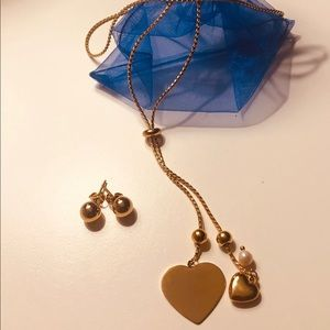 Jewelry - Gold Stainless Steel Necklace..
